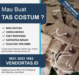 Vendor Tas Waistbag di Malang