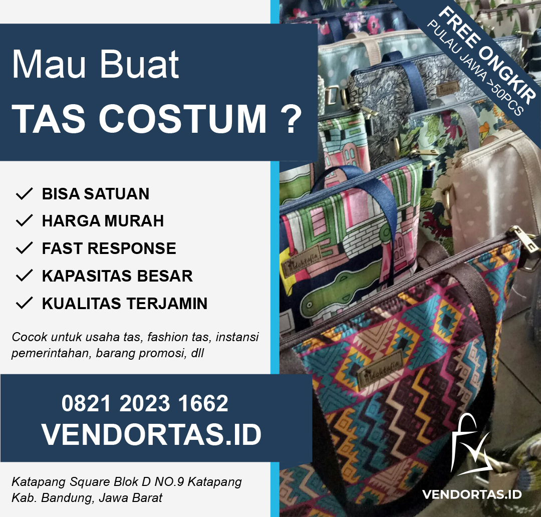 Vendor Tas Slingbag Goni